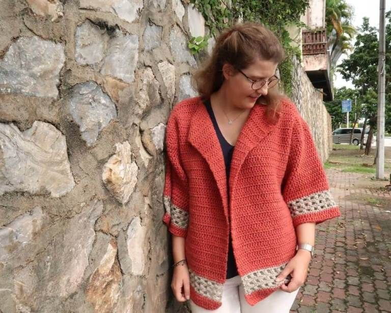 Photo of Hometown Chunky Crochet Cardigan Pattern | Knitting with Chopsticks