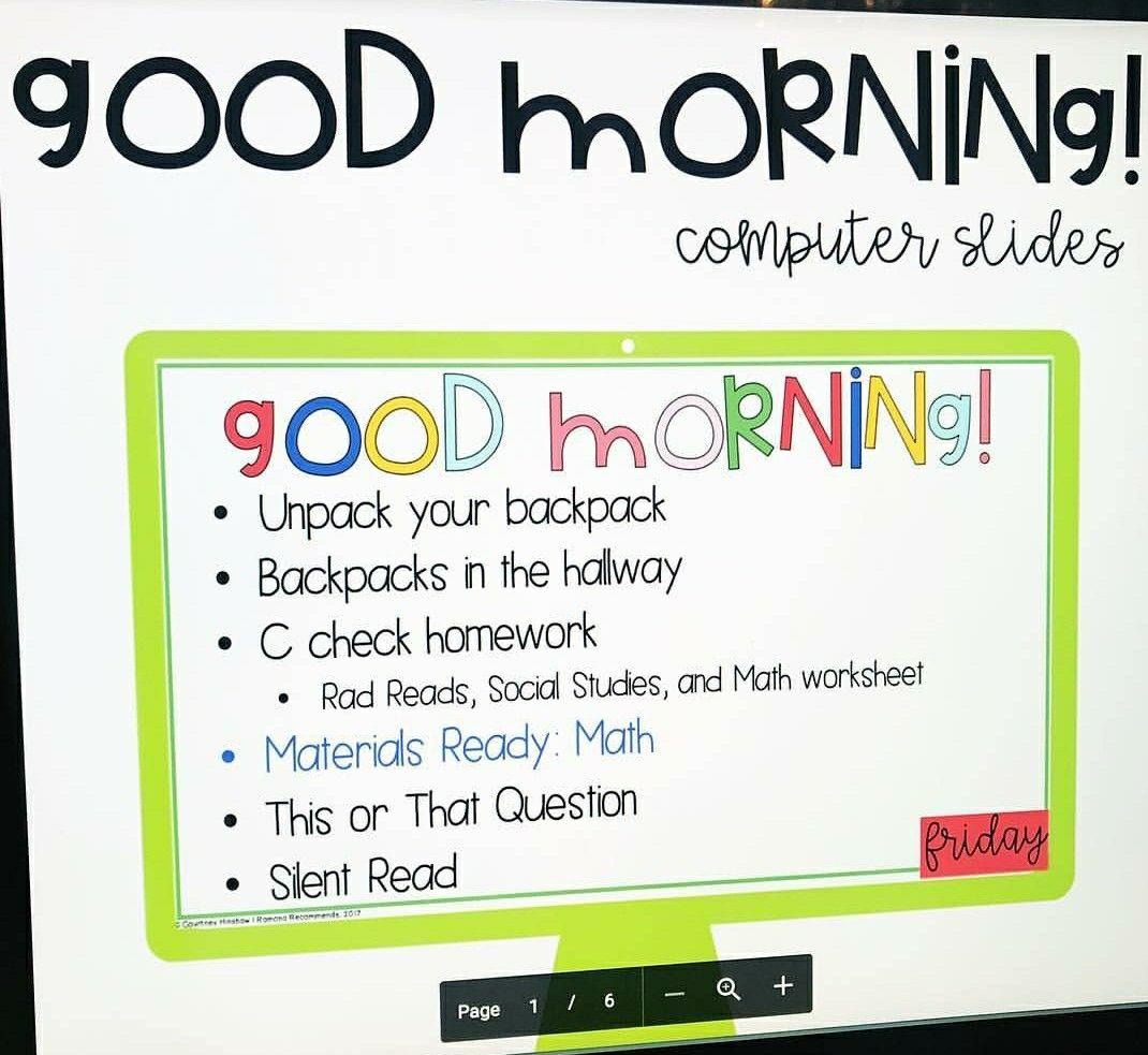 Classroom Ideas Image By Mary Lambert Wolf