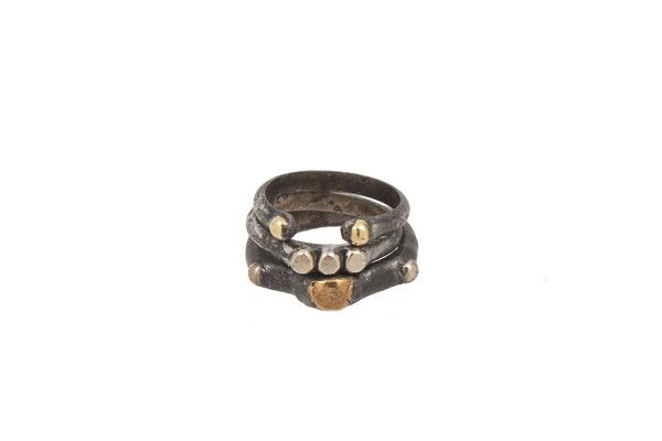 Freedom Stack Ring | Moorea Seal  Size 7