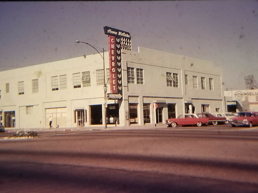 1963 Home Motors Chevrolet Dealership Santa Monica California With Images Chevrolet Dealership Santa Monica Miramar Hotel
