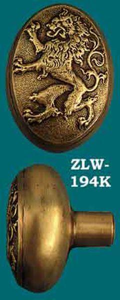 Lion Door Knob Antique reproduction Lion knob has great detail. See ...