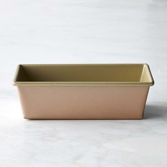 Williams Sonoma Copper Goldtouch Nonstick Loaf Pan 1 Lb Loaf