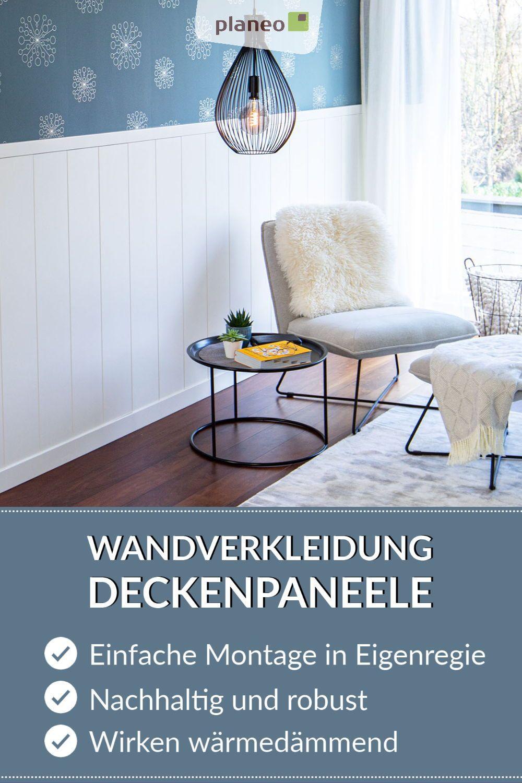 Wandverkleidung Deckenpaneele Stilvolle Akzente Fur Wand Und Decke Bei Einfacher Montage In 2020 Deckenpaneele Wandverkleidung Haus Deko