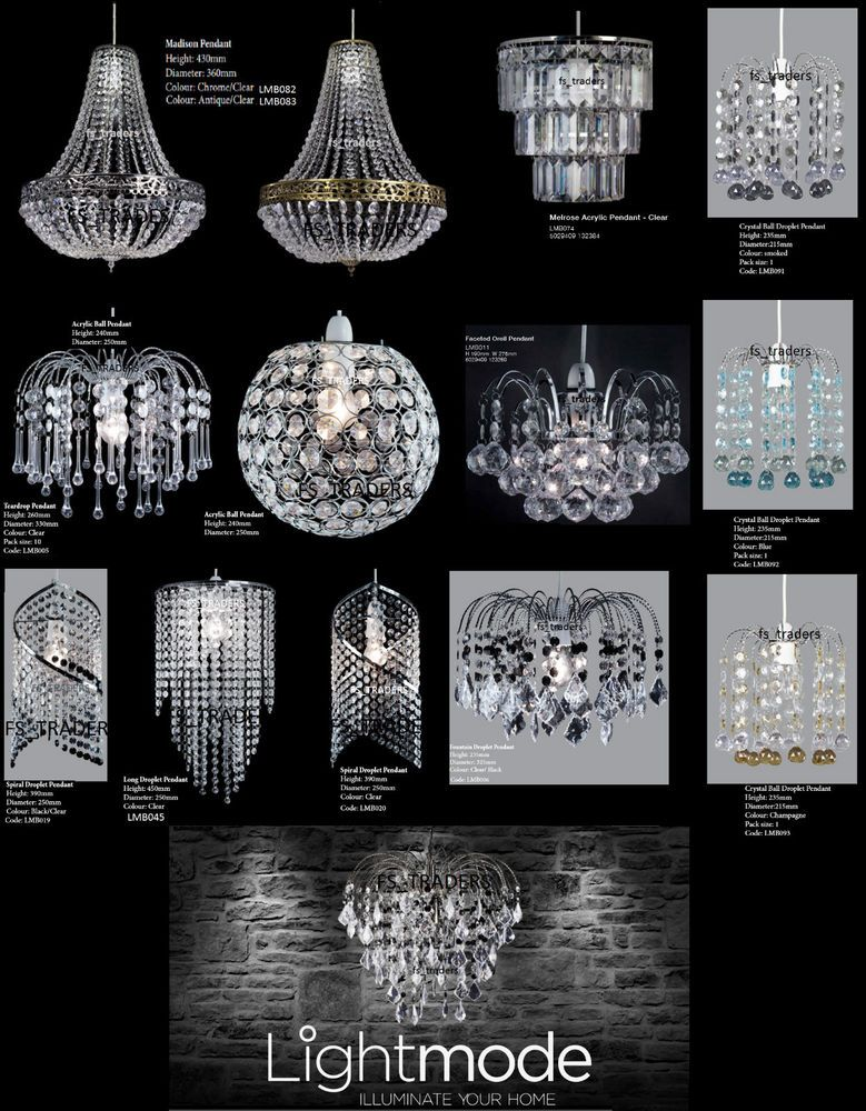 Chandelier style modern ceiling light shade droplet pendant acrylic chandelier style modern ceiling light shade droplet pendant acrylic crystal bead aloadofball Image collections