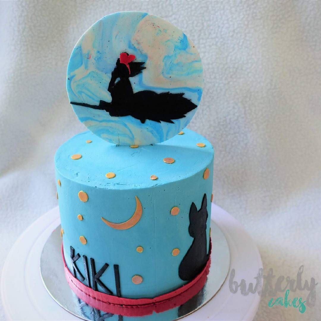 Pleasant Kikis Special Delivery Service Inspired Cake In Strawberries And Personalised Birthday Cards Veneteletsinfo