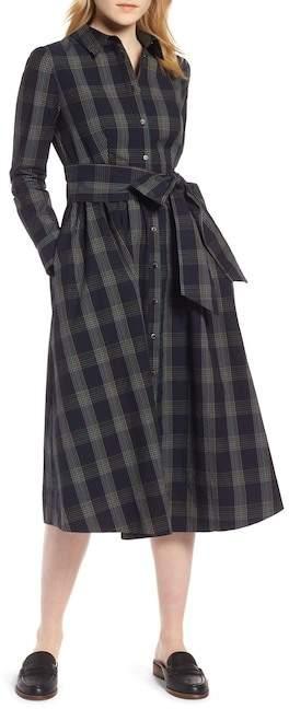 65ecaf03b269 1901 Plaid Midi Shirtdress (Regular   Petite) Fall Dresses