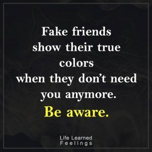 Best Quotes Success Fake Friends Show Their True Colors When They