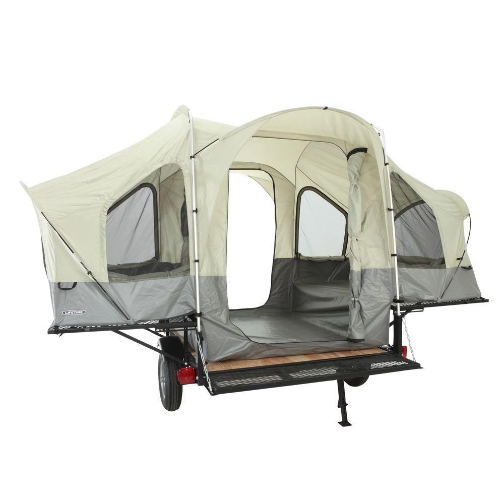 Lifetime Sahara Tent Trailer Kit-65047 at The Home Depot  sc 1 st  Pinterest : tents at home depot - memphite.com