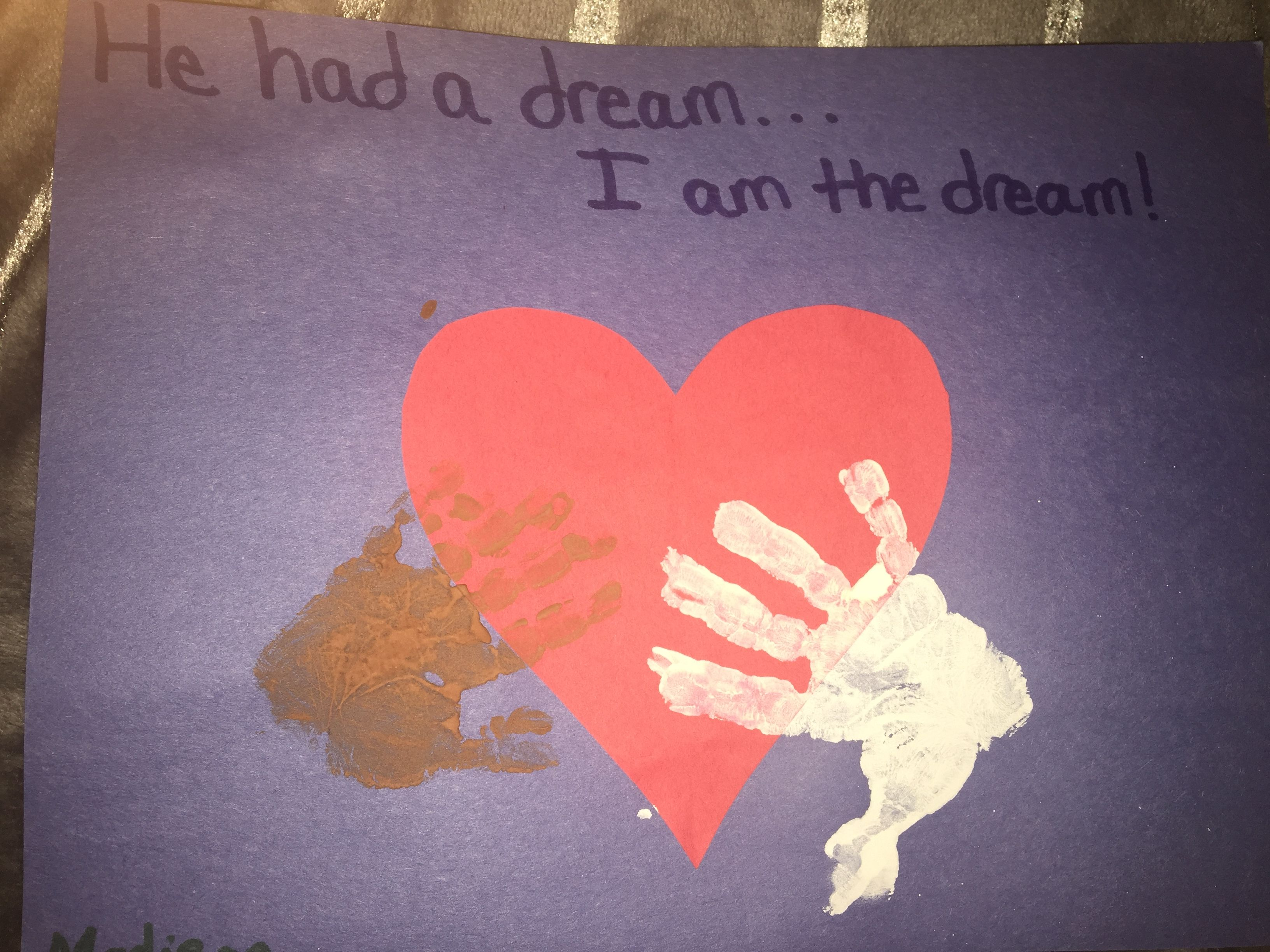 Martin Luther King Jr Arts And Crafts For Toddlers