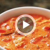 How to Make an Italian Crab Tomato Bisque by @mytexaslife