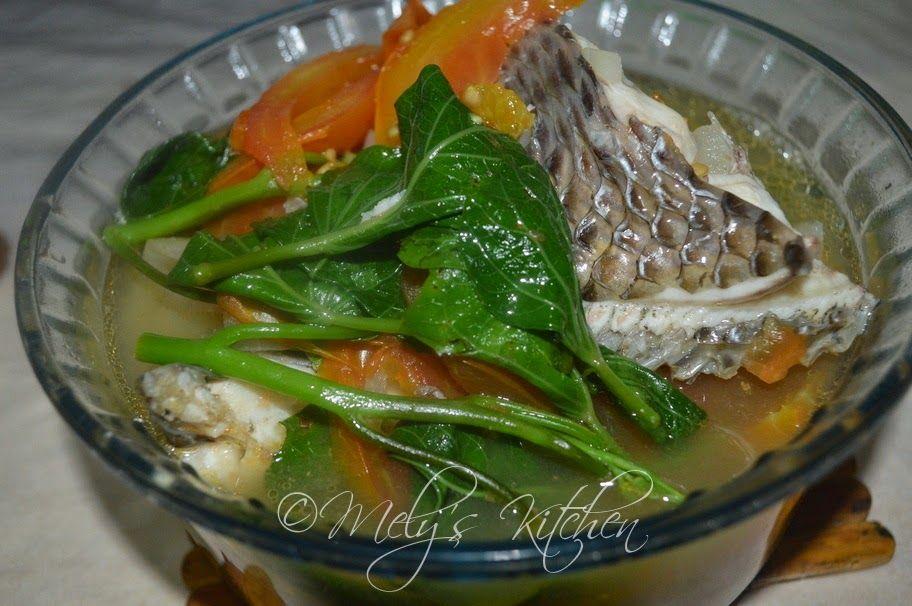 Sinabawang Tilapia - Mely's kitchen
