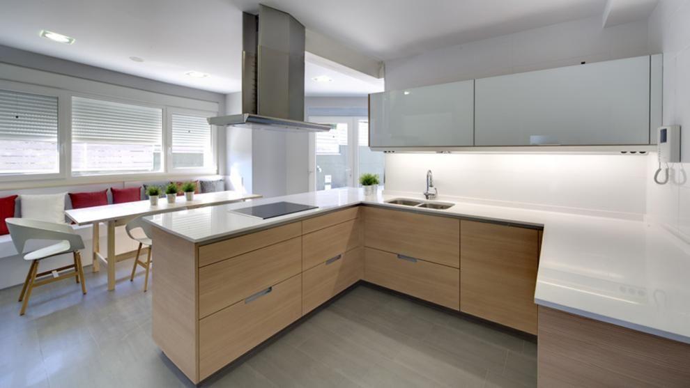 Vivienda equipada con el modelo de cocina MINOS-E estratificado - modelos de cocinas
