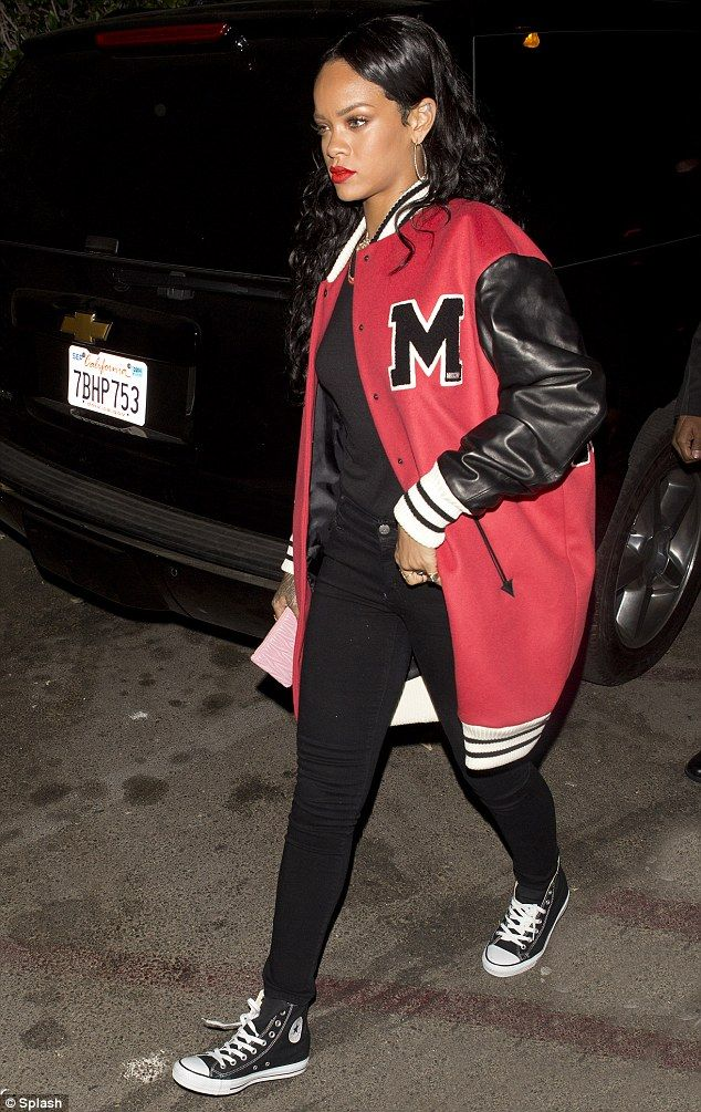 Rihanna Baseball Jacket - JacketIn