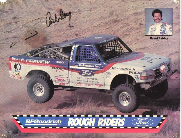 The Ford Rough Riders Off Road Racing Team Off Road Racing Road