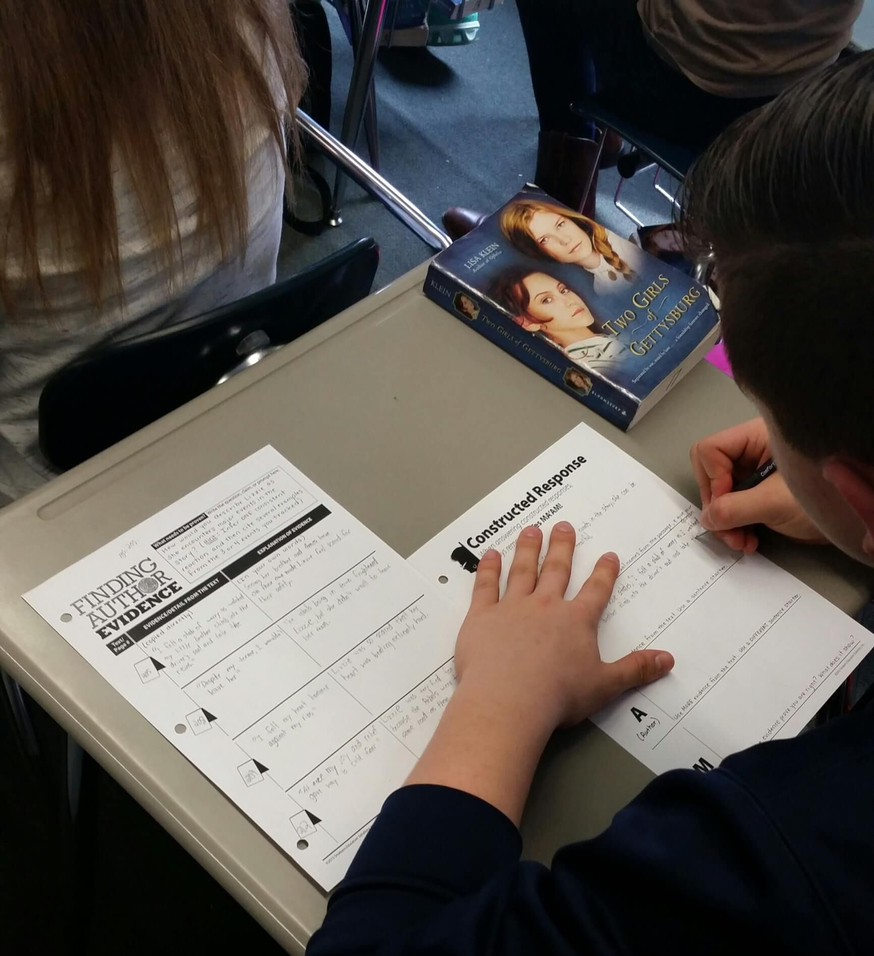 8th Grade Erica Shadley S Class Using Finding Evidence