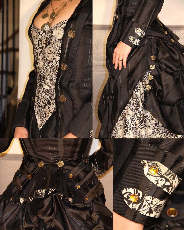 Steampunk victorian dress via etsy ium crazy for