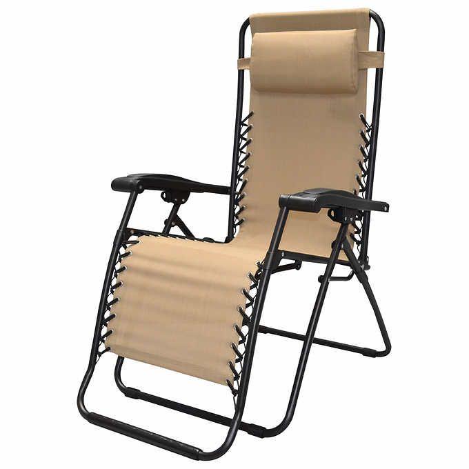 Zero Gravity Reclining Outdoor Lounge Chair Zero Gravity Chair