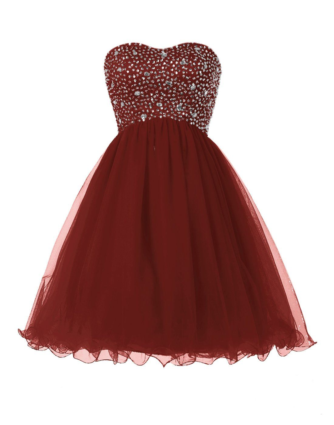 Dressystar short party dresses homecoming gowns laceup back size