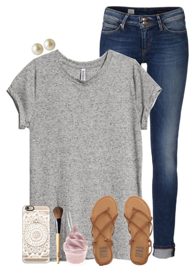 """""""{please read desc!}"""" by theblonde07 ❤ liked on Polyvore featuring Tommy Hilfiger, H&M, Carolee, Casetify, Billabong, Menu, Benefit, women's clothing, women and female"""