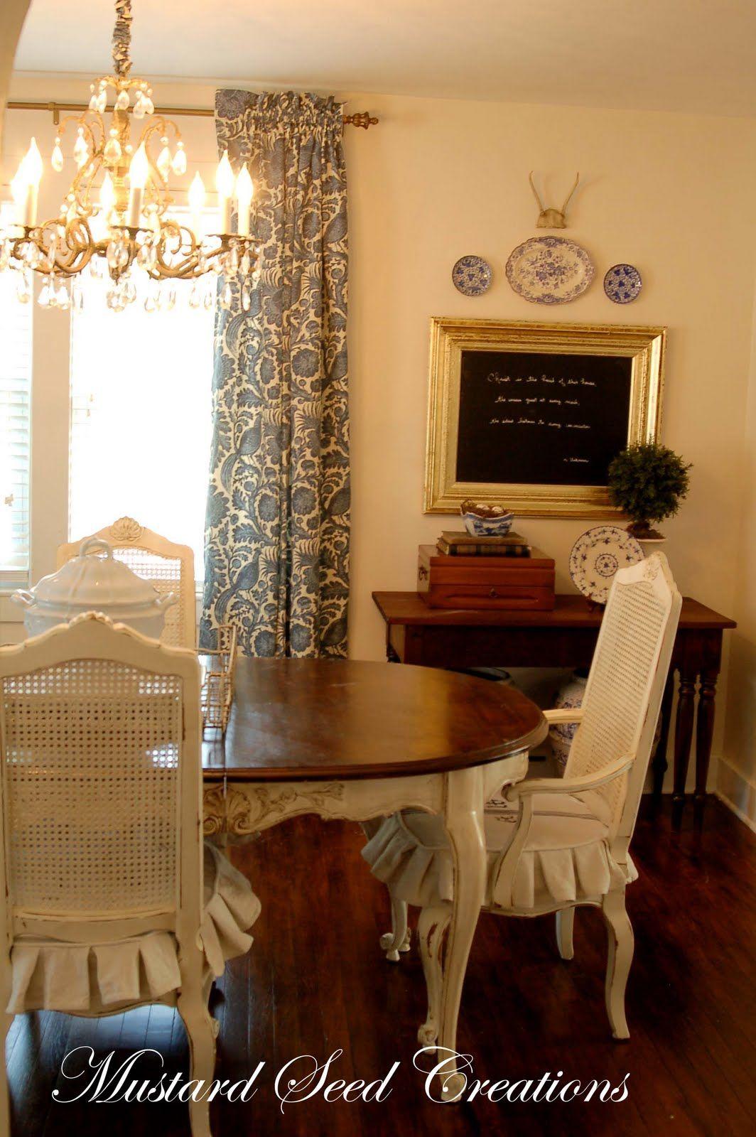 Miss Mustard Seed Dining Room Table