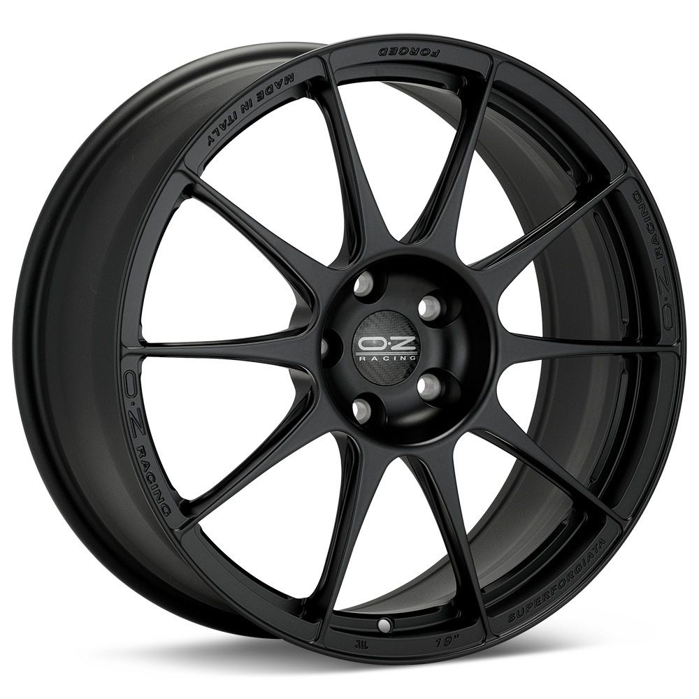 O.Z. Racing Atelier Black Painted