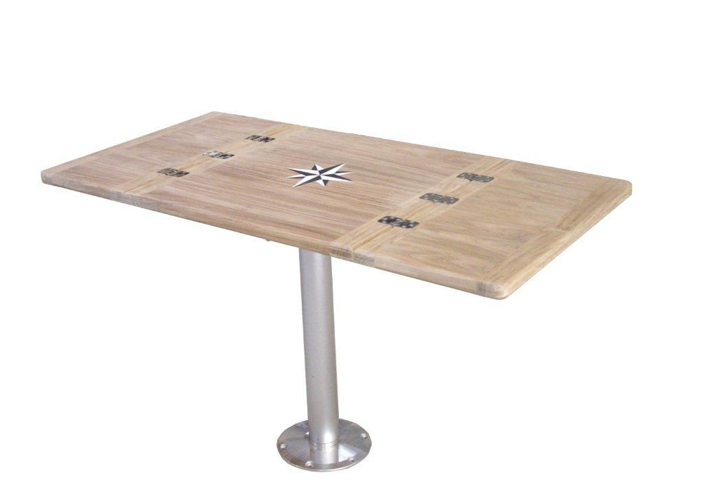 The Teak Marine Table Tops Can Be Sold Individually Or In Combination With A Stainless Steel