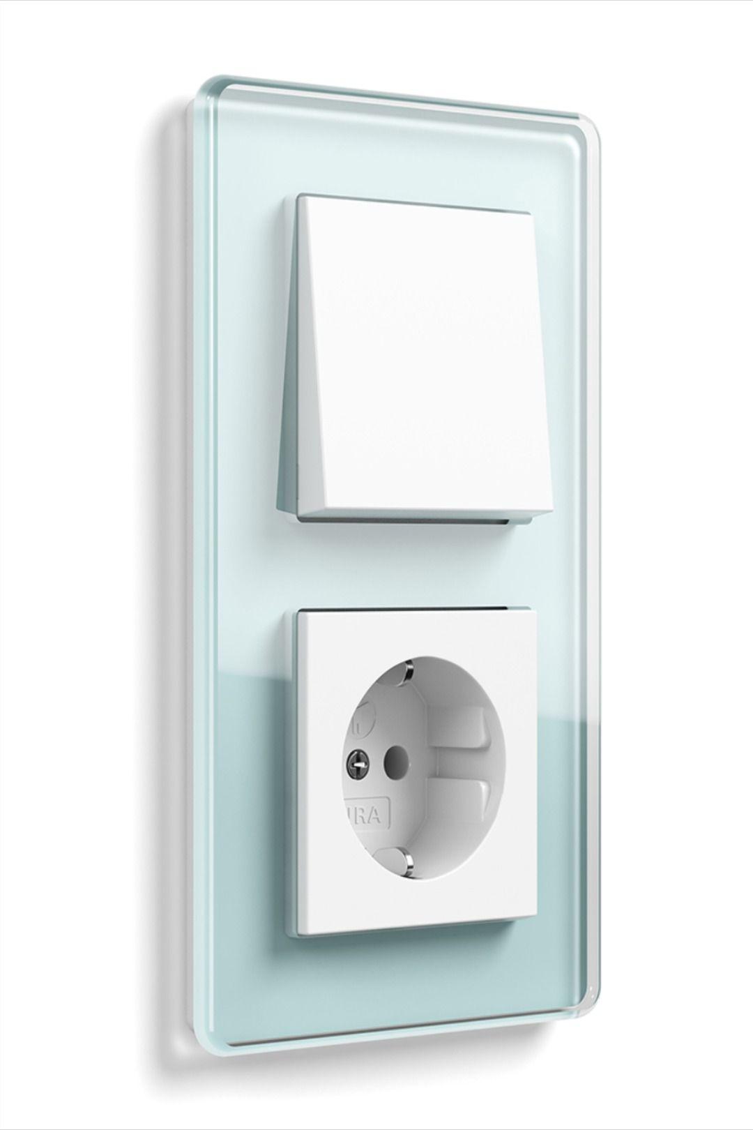 Lichtschalter aus Glas   Steckdosen und lichtschalter ...
