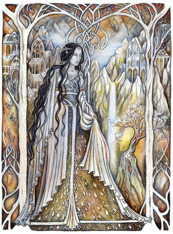 Lady of Rivendell by jankolas on DeviantArt
