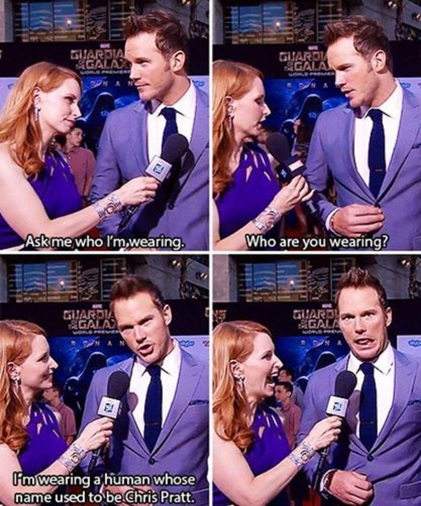 Chris Pratt is hilarious