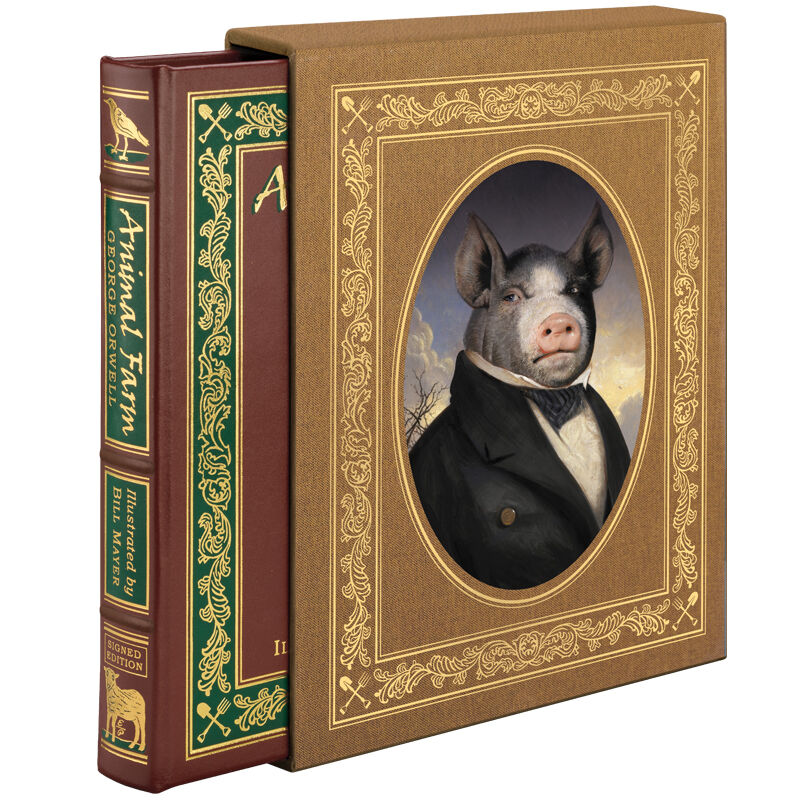 Animal Farm Deluxe Illustrated Edition In 2020 Farm Animals All Animals Are Equal Illustration