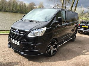 New Ford Transit Custom Double Cab Rs Black Edition Transit