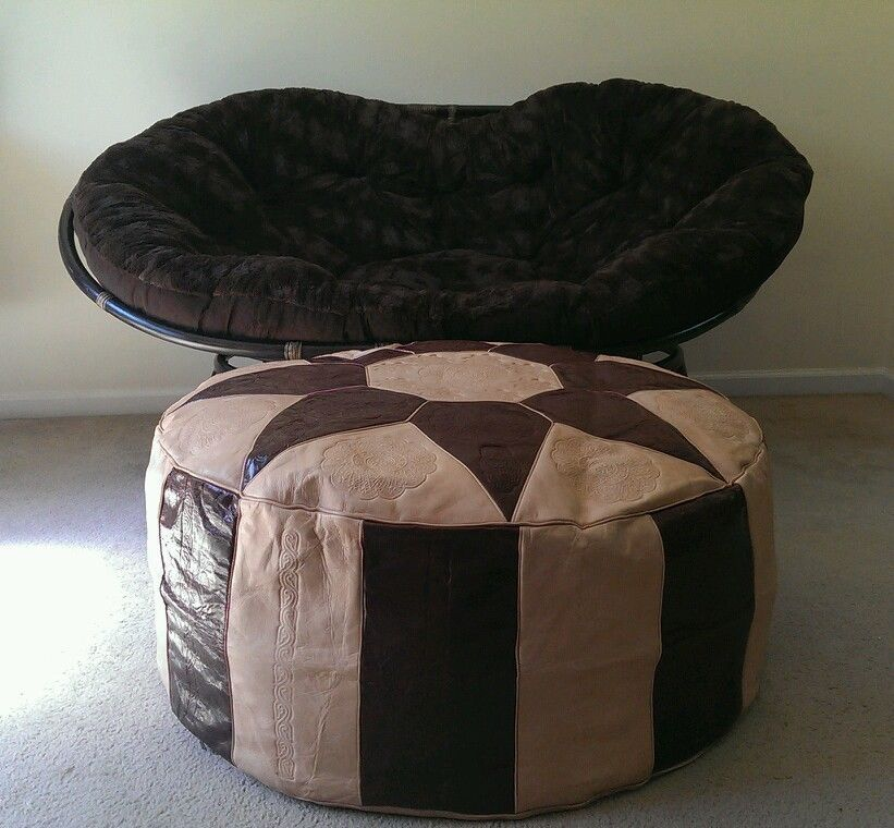 Celebrate your 3rd anniversary with this handcrafted leather Moroccan Footstool.  This is large enough to be used as a coffee table.  For more anniversary gifts visit www.yearsoflove.com