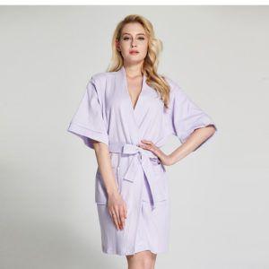 €41,90 Peignoir femme coton rose printemps | Peignoir / Robe de ...