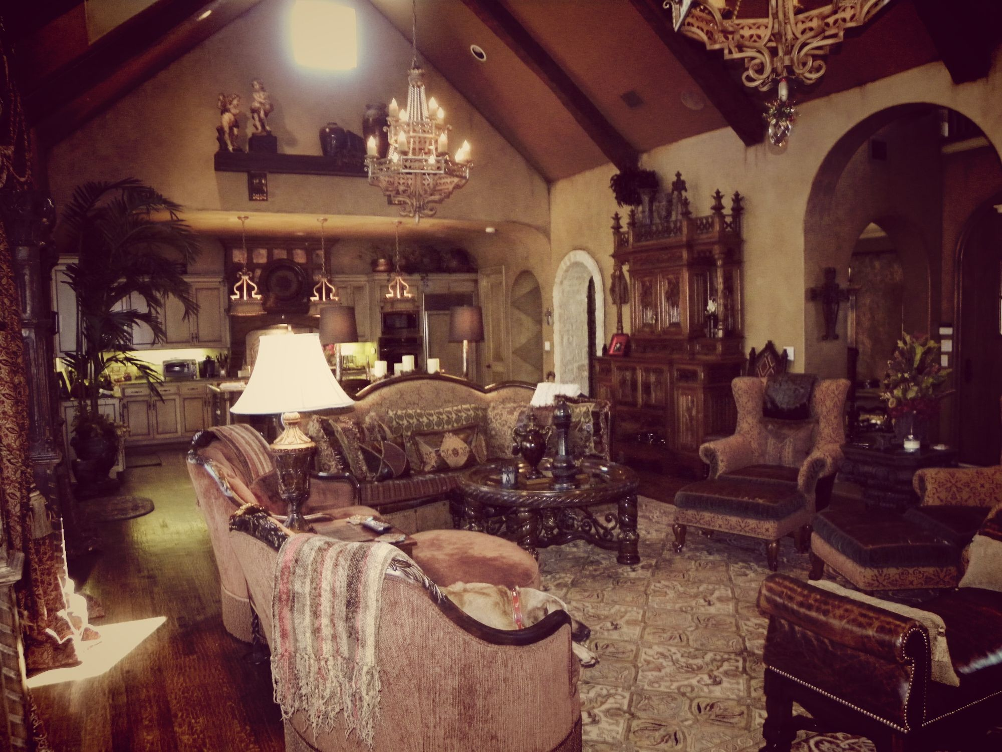 Luxurious Gothic Living Room Gothic Decorating