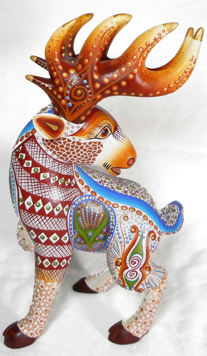 Luis sosa calvo deer alebrijes artesanales mexicano pinterest
