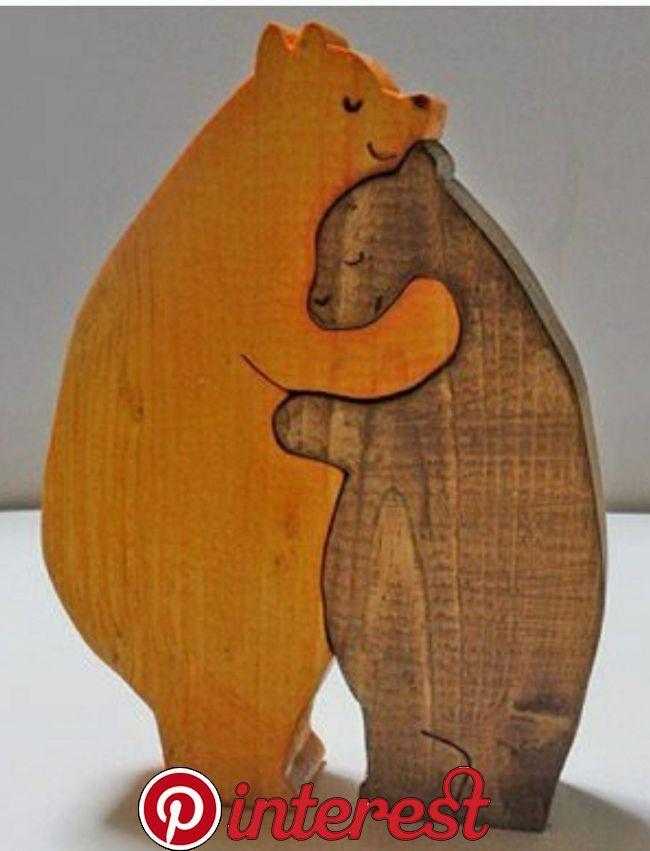 Osos Amorosos الگوی معرق Pinterest Wood Crafts Bear