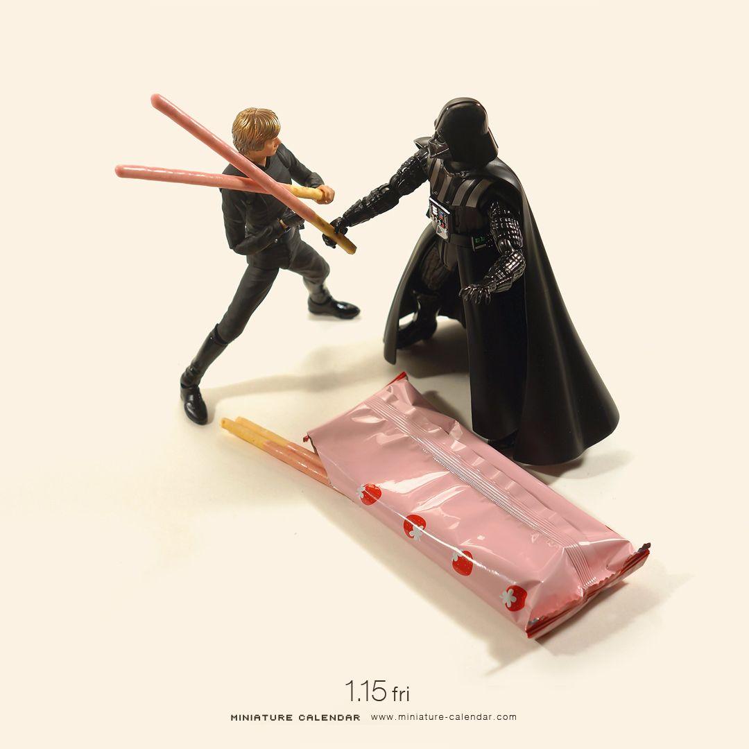 Laser sword battle