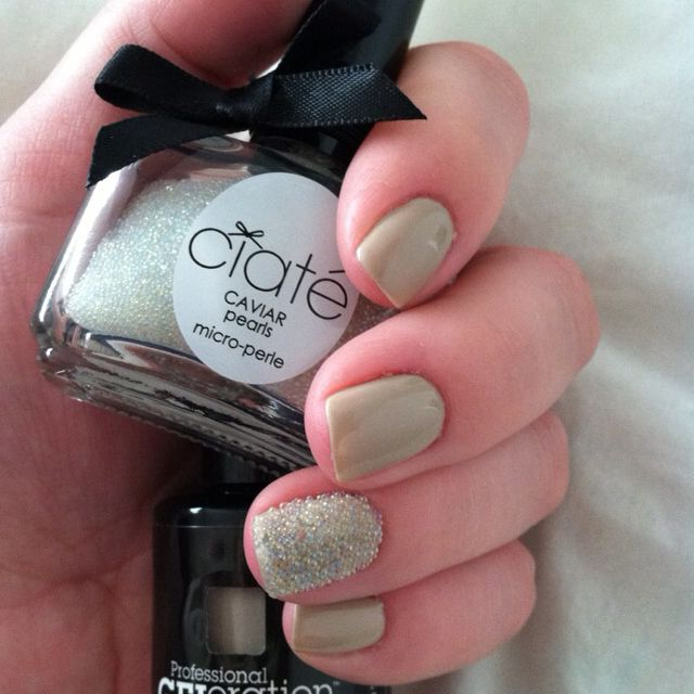 Ciate Caviar Pearls: My Nails! Jessica GELeration Wing It And Accent Finger
