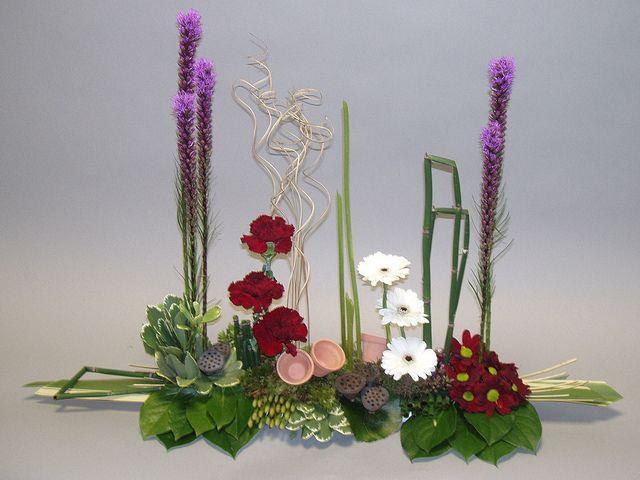 Image result for parallel flower arrangement videos