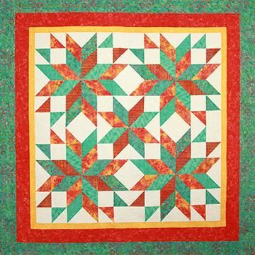 Tuscan Star by Debbie Maddy | Star and Patterns : debbie maddy quilt patterns - Adamdwight.com