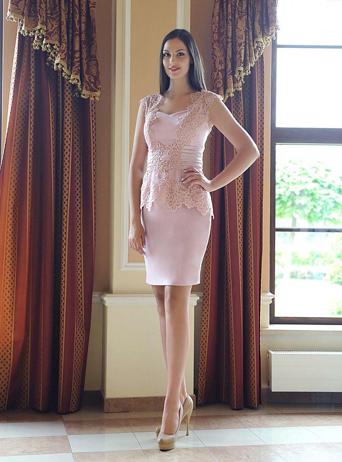 Elegancka Sukienka Szyta Na Miare Slub Cywilny Roz 6273268260 Oficjalne Archiwum Allegro Dresses Fashion Formal Dresses