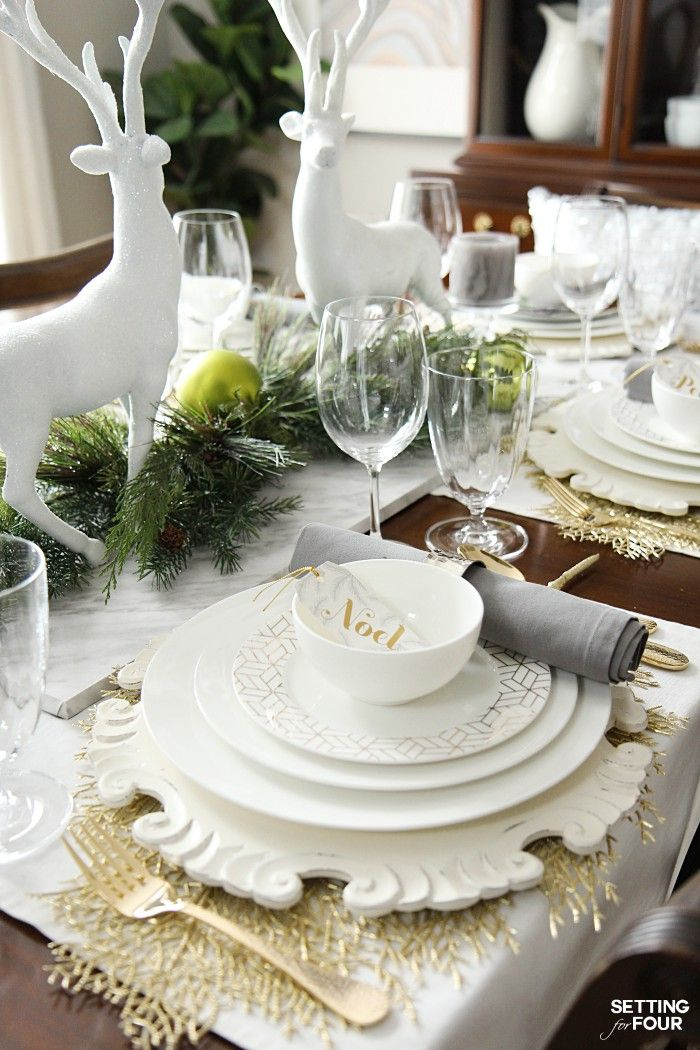 Elegant Table Setting Ideas For The Holidays