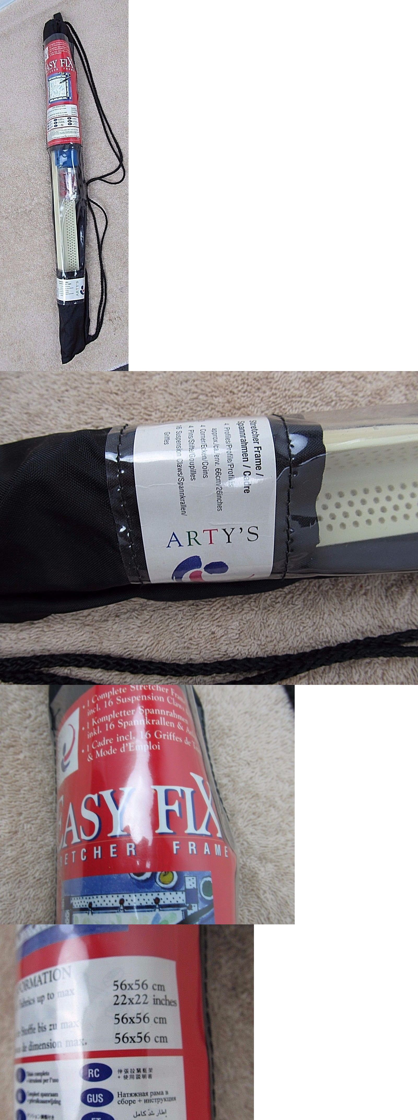 Other Framing and Matting 11786: New Arty S Easy Fix Stretcher Frame ...