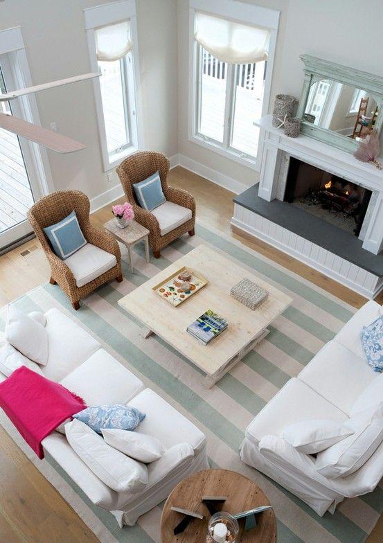 Beach house decor ❤ the rug Dream home❤ Pinterest Beach