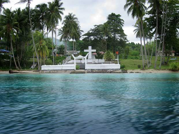 Pulau Mansinam Sejarah Bagi Peradaban Di Tanah Papua Wisata Budaya Pulau Indonesia