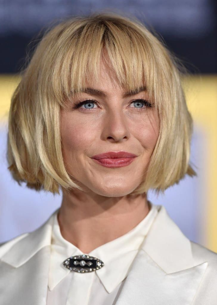 Makeup, Beauty, Hair & Skin | Julianne Hough Looks Completely Different With Her New Blunt Bob and Bangs | POPSUGAR Beauty Photo 9 #bluntbob #juliannehoughstyle Makeup, Beauty, Hair & Skin | Julianne Hough Looks Completely Different With Her New Blunt Bob and Bangs | POPSUGAR Beauty Photo 9 #bluntbob #juliannehoughstyle