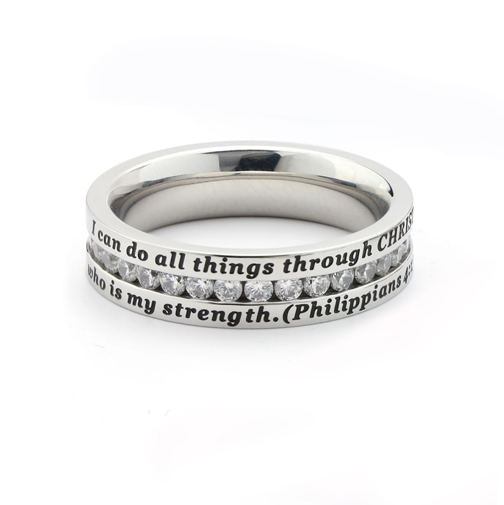 All Things - Elegance Ring on SonGear.com - Christian Shirts, Jewelry