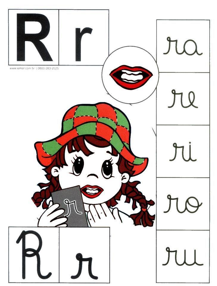 Letra R Mayuscula R Minuscula Intervencion Atividade Alfabeto