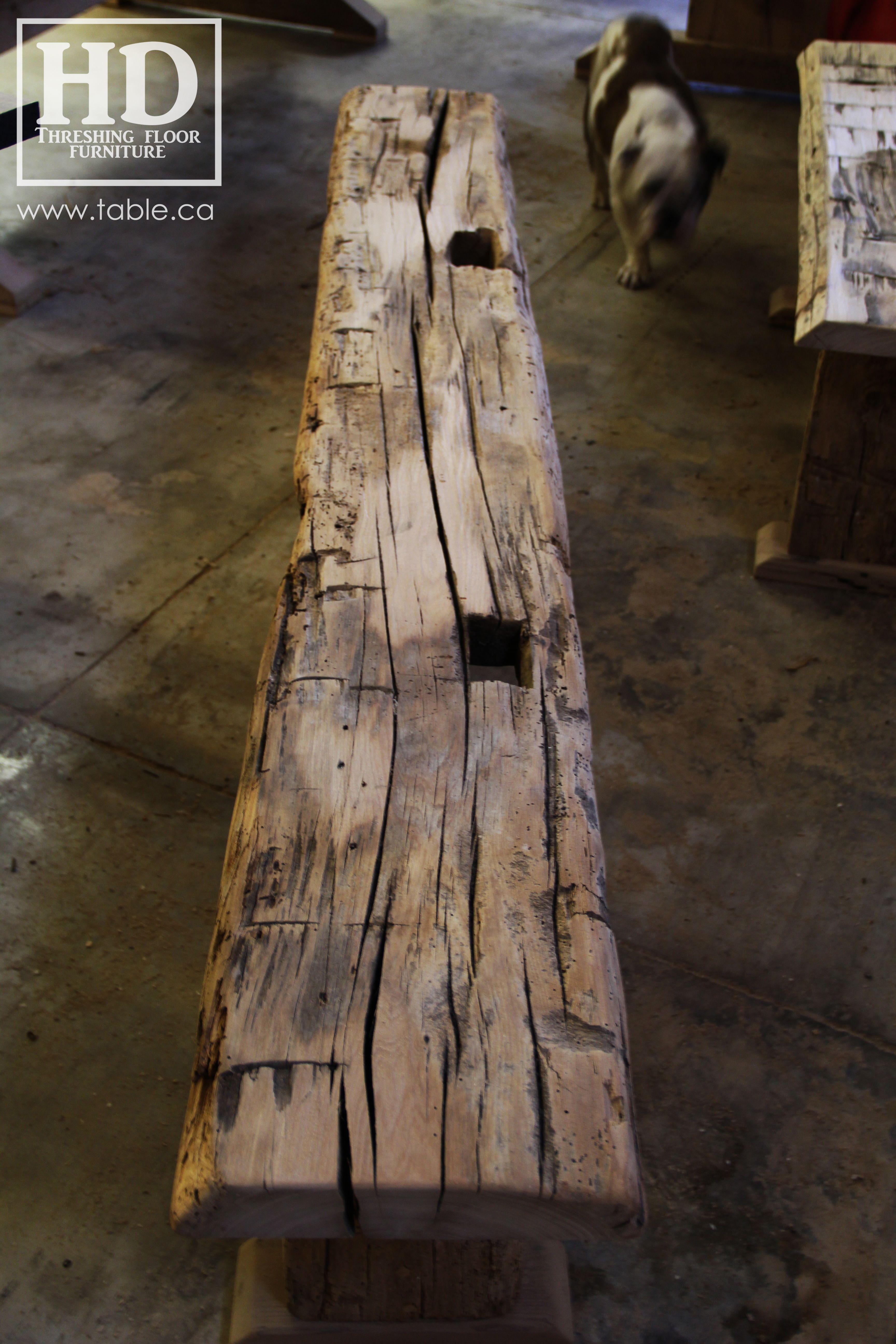 Ontario Reclaimed Wood Custom Furniture Hd Threshing Floor