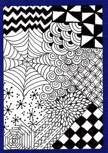 zentangle for beginners #2 - craftycrocheter | tangle patterns